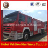 HOWO 6X4 12000L水Foam Fire Fight Truck