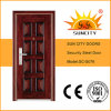 高品質の単一の葉の鋼鉄ドア(SC-S076)