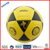 Yellow Soccer Ball with a Running Man