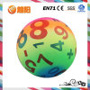 Pvc Colorful Inflatable Printing Ball voor Toy van Children (KH6-90)