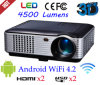 Android WiFi Wireless Projector LCD-Projektor Heimkino Beamer und Pryector (SV-228)