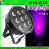 Professioanl Lichte 9LED 10W  6in1  Mini  Flat  LED  PAR  Licht