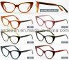 Montatura per occhiali di riserva pronta all'ingrosso dell'acetato dell'occhio di gatto della Cina