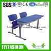 Escritorio y silla Muebles Durable Escuela Superior de plástico Doble Estudiante (SF-52B)