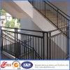 El acero inoxidable diseña el pasamano de la escalera/el pasamano del hierro labrado