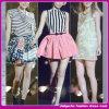 Form-Kleid-kurzes hohes Taillen-Kleid-/Party-Kleid-/2015 Form-Mädchens mit Blumencocktailkleid (C-204)