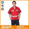 O Workwear o mais novo da camisa dos homens com a fita impermeável e reflexiva