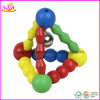 Age 6-24 Months (W08K013)를 위한 나무로 되는 Baby Musical Rattle Toy