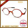 Vidros de leitura redondos na moda novos do frame R004 Tr90