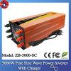 5000W gelijkstroom aan AC Pure Sine Wave Power Inverter met Charger