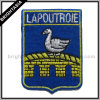 Kwaliteit Metallic Silver Embroidery voor Iron op Patch (byh-10106)