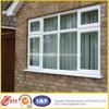 Окно PVC белого двойника профиля стеклянное