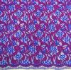 Tessuto del merletto di colore di Muti per la signora Dress