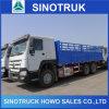 Caminhão da carga do veículo com rodas de Dropside 10 da cerca do Sidewall de Sinotruk HOWO 6X4