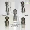 18mm Titanium Nail for The Glass Tobbacco DAB Titanium Enail