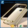 GroßhandelsLuxury Plating Bumper Transparent Soft Mobile TPU Phone Fall für Samsung Galaxy A510 2016
