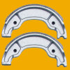 Ybr125 Motorcycle Brake Shoe, Motorbike Brake Shoe per Honda