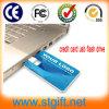 Flash tarjeta de crédito USB Drives barato a granel de libre impresión de la insignia