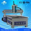Alta precisión 1212 1224 1325 grabados que tallan haciendo publicidad de la máquina del ranurador del CNC