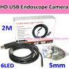 USB estupendo Wire Pipe Inspection Endoscope Camera de Small 5.5m m Waterproof