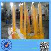 Пал барьера желтого покрытия порошка стальные/столб (ISO утвержденный)