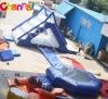 Jogos infláveis do parque da água da classe comercial