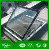 Aluminium-UPVC Spitzendach-Glasoberlicht-Fenster