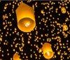 Lanterne géante chinoise colorée en gros de ciel