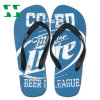 Playa Rubber Flip Flops con Full Color Imprint