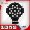 Diodo emissor de luz Lighting de Searchlight Best do Pesado-dever do diodo emissor de luz Work Light de Dustproof&Waterproof 51W
