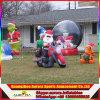 Таможня ягнится игрушки PVC игры, игрушки дешевого промотирования рождества раздувные