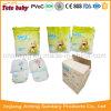 O treinamento confortável arfa fraldas Washable do tecido de pano do bebê reusável do bebê do algodão