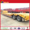 Col de cygne de camion de 2 essieux 30 tonnes de Lowbed de remorque semi