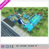 Heißester Sommer-riesiger beweglicher Rahmen-Pool-Wasser-Park für Verkauf