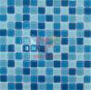 Decorative blu Bathroom e piscina Glass Mosaic (CFC148)