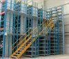الصلب متعدد المستويات حامل طابق الميزانين لمستودع التخزين