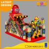 Obstacles de ville d'amusement de construction de robot gonflables avec la glissière (AQ01764)