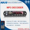 Доска дешифратора горячего сбывания тональнозвуковая PCBA MP3