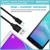 Новый материальный кабель USB данных для заряжателя Samsung