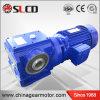 Riduttore elicoidale del motore della vite senza fine dell'asta cilindrica della cavità di alta efficienza della serie S