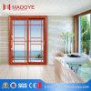 Дешевое цена алюминиевой двойной стеклянной раздвижной двери веранды