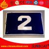 Número de casa da placa do sinal do esmalte/placa porta do esmalte
