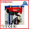 Constrution를 위한 소형 빠른 철사 밧줄 또는 사슬 전기 호이스트