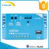 Epever 10A 20A 30A mit USB 12V/24V Aotu des Sonnenenergie-Controllers Ls1024EU