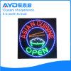 Cuadrado de Hidly la muestra del restaurante LED de Asia
