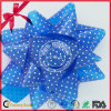 Твердый смычок звезды подарка тесемки PP пластичный