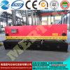 Máquina de corte 8*4000mm da placa hidráulica quente da guilhotina do CNC
