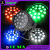 DJ-Disco-Stadiums-Effekt-Licht 18X18W Zoom 6in1 RGBWA UV LED PAR