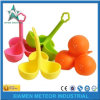 주문을 받아서 만들어진 플라스틱 주입 색깔 만화 귀여운 식기 실리콘고무 OEM/ODM