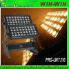 iluminación de la arandela de la pared del poder más elevado LED de 4in1 RGBW 72PCS